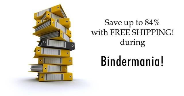 Save up to 84% and get FREE SHIPPING on popular Avery Heavy-Duty Binders via Amazon and Office Depot!