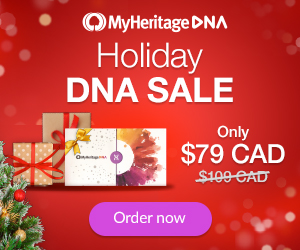 MyHeritage is also holding a Holiday Sale for countries other than the United States with these special prices