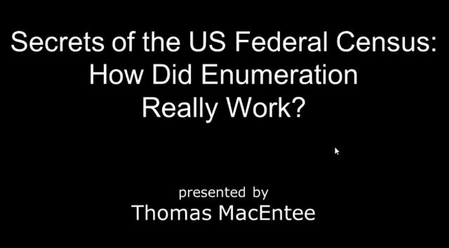 Secrets of the US Federal Census – How Did Enumeration Really Work