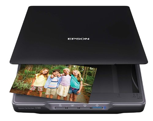 NEW! Amazon: Save 25% on Epson Perfection V39 Color Photo & Document Scanner and other scanners
