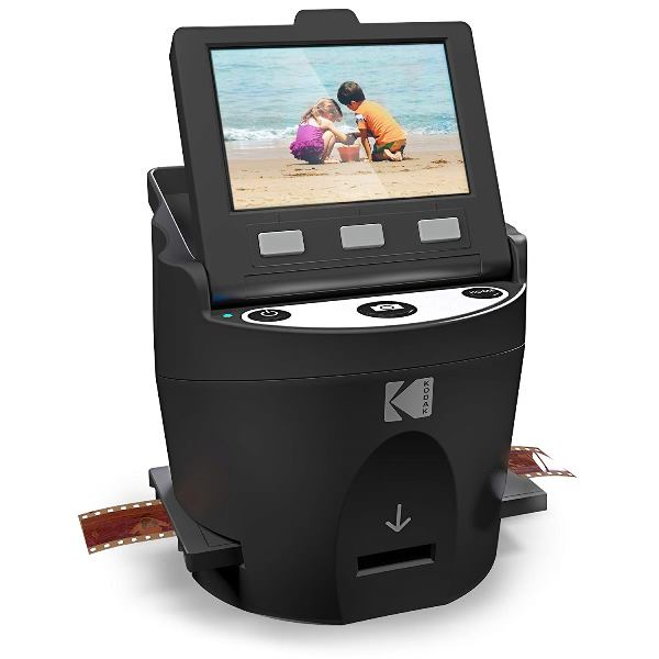 Amazon: KODAK SCANZA Digital Film & Slide Scanner converts 35mm, 126, 110, Super 8 & 8mm Film Negatives & Slides to JPEG - regularly $229.99 USD, now just $119.99 PLUS free shipping for Amazon Prime Members