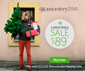 AncestryDNA Canada has a NEW lower price during its Holiday Sale - get the world's most popular DNA test for just $89 CAD - that's a savings of $40 CAD!