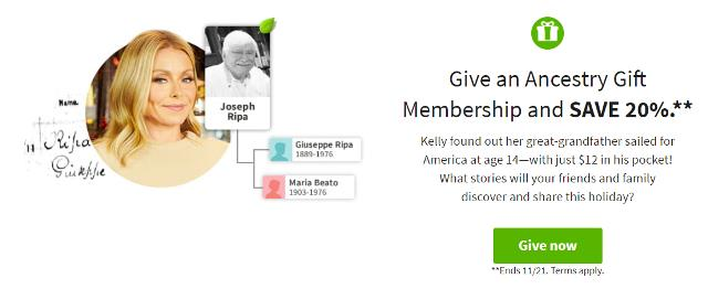 Make their holidays more meaningful with an Ancestry Gift Membership. Get a head start on your gifting and give your loved ones the gift of family discovery.