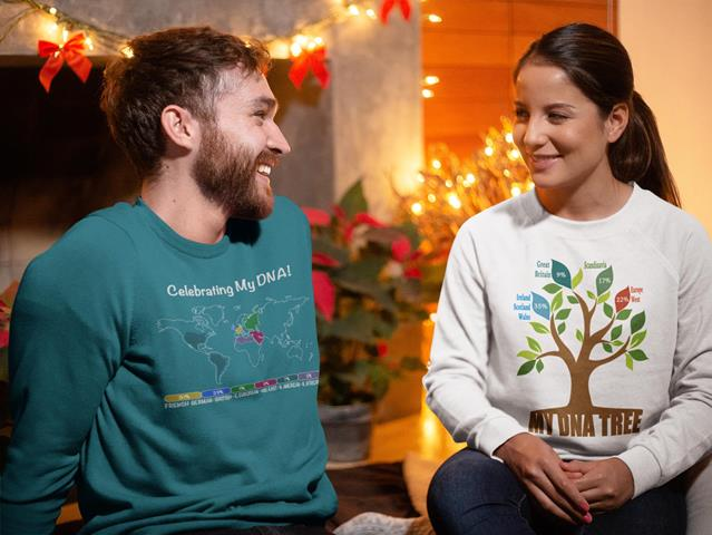 25% off on DNA-related T-shirts, Sweatshirts and Hoodies (adult sizes) at Celebrate DNA! Use promo code THOMAS18 at checkout!