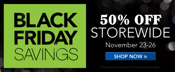 The Black Friday Sale at Family Tree Magazine starts on Friday, 23 November 2018 with 50% off STOREWIDE! Plan your shopping strategy now!