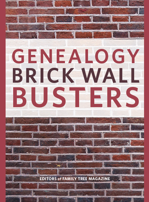 Genealogy Brick Wall Busters eBook: Conquer family history's toughest obstacles with these genealogy tips and strategies. This eBook will show you how to search for your ancestry efficiently, find ancestors hiding in census records, find your birth family using DNA and much, much more.