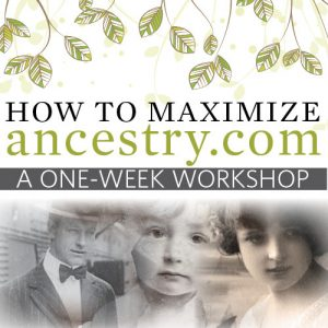 Learn How to Search Ancestry.com Like a Pro: In this week-long workshop, discover how to make the most of all the search tools Ancestry.com offers to find your ancestors. By the end of the week, you'll know how to mine the database to find those hidden gems and reveal the obscure collections that are hiding your ancestors.