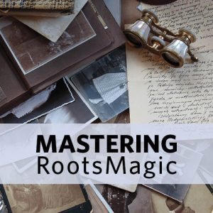 Manage Your Tree in RootsMagic Software: Whether you're relatively new to genealogy research or an experienced family historian, RootsMagic family tree software offers tons of fantastic features that will not only help you store your information but organize and edit your research. This 4-week course will guide you through so you spend less time learning the software and more time researching.