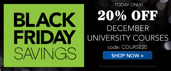 TODAY ONLY! Family Tree University: Save 20% on December courses at Family Tree University with promo code COURSE20!