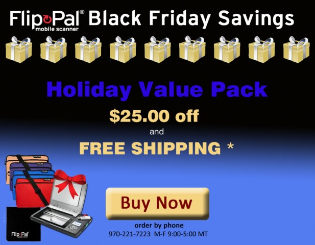 Flip-Pal: Save $25 and get FREE SHIPPING* with Holiday Value Pack