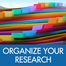 Organize Your Research - Family Tree Magazine - Get resources to help you organize all aspects of your genealogy - from setting goals and creating projects to setting up paper and digital organization systems, finding the best apps and tools to keep your projects on track, and much more!