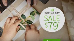 AncestryDNA Canada has dropped to just $79 CAD - AncestryDNA Boxing Week Sale valid through Monday, December 31st! Get the details at Genealogy Bargains!