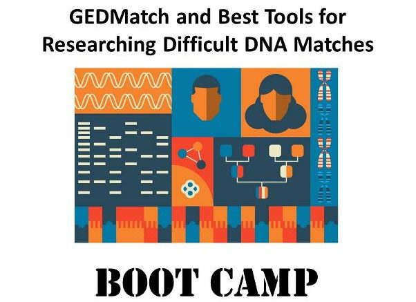 Save 30% on the GEDMatch & Best Tools for Researching Difficult DNA Matches digital download with DNA expert Mary Eberle