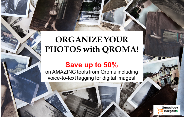 Save up to 50% on Qroma Photo products to tag and organize your digital photos!