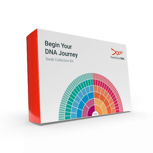 Family Tree DNA: Save 37% on Family Finder DNA test kit from Family Tree DNA via Amazon! Regularly $79 USD, now just $49.99 USD plus FREE SHIPPING for Amazon Prime Members!