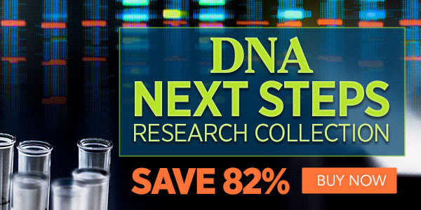 Family Tree Magazine: Save 82% on DNA Next Steps Research Collection from Family Tree Magazine! Regularly $389.93 USD, now just $69.99 USD!