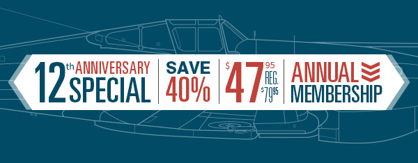 Fold3: Save 40% during the Fold3 12th Anniversary Sale! A one-year subscription, regularly $79.95 USD, is just $47.95 USD* - that's only $3.99 a month!