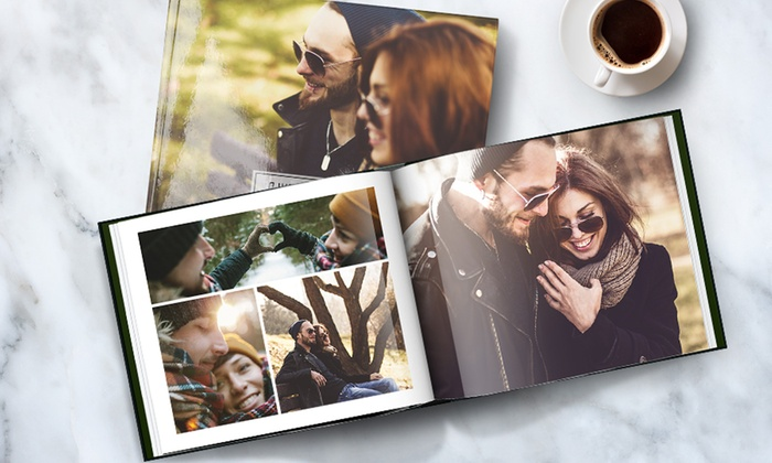 """Save up to 95% Off 11"""" x 8.5"""" Personalized Hardcover Photo Books from Printerpix!*Get started on Valentine's Day gifts or stock up for your family reunion next summer! You can purchase the Groupon voucher NOW and then take 90 days to create your photo book!"""