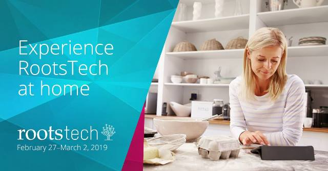 Access RootsTech sessions when and where you want with the RootsTech Virtual Pass starting at just $79 USD! With the virtual pass, you'll have access to 18 online recorded sessions from the conference. You can watch playbacks from your laptop, tablet, or smartphone device whenever and however you'd like – all for just $129! The virtual pass is perfect for any genealogist who is unable to travel to Salt Lake City and attend the conference in person. Already planning on attending but want access to more content? Add the virtual pass on to your existing registration for only $79! Save money and further your family history skills? Now that's convenient!