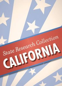 State Research Collection: CALIFORNIA: This all digital state collection is designed to support and enhance the search for your California family.