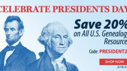 Family Tree Magazine: Presidents Day Sale at Family Tree Magazine! Save 20% on ALL US Genealogy Resources with promo code PRESIDENT20