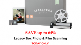 TODAY ONLY! Save up to 64% on Legacy Box photo, film, and slide scanning! See all the latest Genealogy Bargains for Sunday, February 24th, 2019