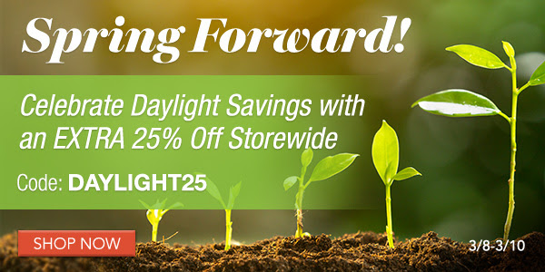 Family Tree Magazine: Save 25% STOREWIDE during the Family Tree Magazine Daylight Saving Sale! Use promo code DAYLIGHT25 at checkout and take an EXTRA 25% OFF DNA, genealogy, and family history books, webinars and more!