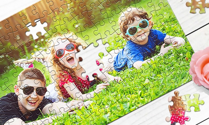 PrinterPix: Save up to 93% on Custom Photo Puzzles! Imagine creating jigsaw puzzles from your old family photos . . . now you can and save up to 93%! with prices as low as $5!