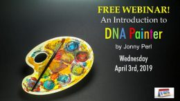 FREE WEBINAR An Introduction to DNA Painter presented by Jonny Perl, Wednesday, April 3rd sponsored by Legacy Family Tree Webinars!