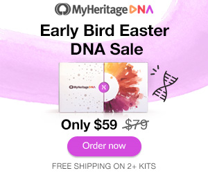 FREE WEBINAR An Introduction to DNA Painter + MyHeritage DNA Early Bird Easter Sale! Check out all the Genealogy Bargains for Monday, April 1st, 2019!