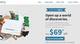 AncestryDNA Just $69 during National DNA Day Sale