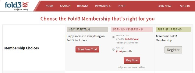 Right now you can save $30 on Annual Subscription at Fold3 and get access to military records, city directories and newspapers. Did you know that Fold3 has over 2 million pages (around 100 million names), in its City Directories Collection with records dating back to 1785. Before phone books came into the picture, many cities and towns published directories of their residents. Regularly $79.95 USD, pay just $49.95 USD!