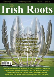 Learn how you can get your FREE ISSUE of Irish Roots Magazine - the 'go to' publication for Irish family history research.