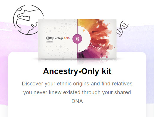Get MyHeritage DNA for just $59 plus FREE SHIPPING when you purchase 2 or more kits! This is the BEST VALUE in DNA testing right now!