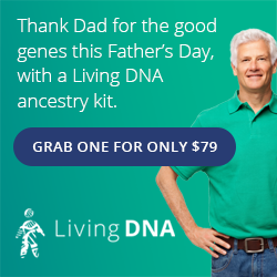 Living DNA: Save $20 on Living DNA 3-in-1 DNA test kit during the Living DNA Father's Day Sale! Living DNA is the world's most advanced DNA test, offering twice the detail of other ancestry tests. If you have British or Irish heritage, this test is a MUST since it shows you the ethnic breakdown by region.