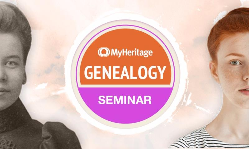 MyHeritage One-Day Genealogy Seminar, Wednesday, May 15, 2019 with presenters Thomas MacEntee, Daniel Horowitz and Garri Regev LIVE from the MyHeritage headquarters in Or Yehuda, Israel.