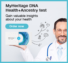 LAST CHANCE! Save 50% on MyHeritage DNA Health+Ancestry DNA test upgrade - regularly $120, now just $60!