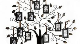 Save 50% on Klikel Family Tree Frame Display with 10 Hanging Picture Photo Frames - just $37.99!
