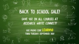 Learn how to create family story tributes save 40% on all courses with Lisa Alzo during the Back to School Sale at Research, Write, Connect!