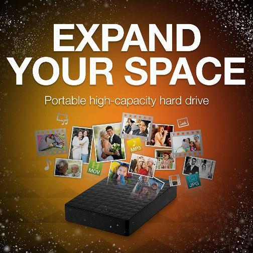 Save 33% on Seagate Portable 4TB External Hard Drive!