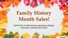 Family History Month Sales are on NOW! Save 10% on Old German Handwriting Online Course! Get MyHeritage DNA for just $49 and more!