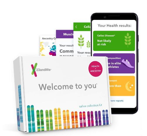 Save BIG on 23andMe DNA test kits plus FREE SHIPPING! Right now you can save $10 on the 23andMe Ancestry + Traits DNA test kit (regularly $99, now just $89!) and save $50 on 23andMe Health + Ancestry DNA test kit (regularly $199, now just $149!). Plus Amazon Prime members get FREE SHIPPING!
