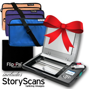 Flip-Pal mobile scanner: Save $25 on Flip-Pal Holiday Pack and get FREE SHIPPING!