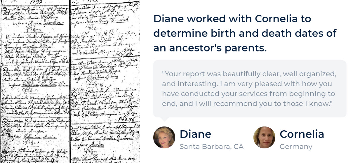 Do you need genealogy research help? All of us – even genealogy professionals – need help from time to time. Trace can help you get unstuck!
