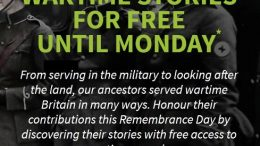 To mark Remembrance Weekend, Ancestry UK has FREE ACCESS to over millions of UK military records through Monday, November 11, 2019!