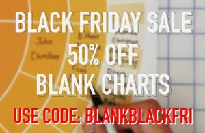 Family ChartMasters: 50% OFF on Fill in the Blank Charts! Use promo code BLANKBLACKFRI. Sale valid through Monday, December 2nd.