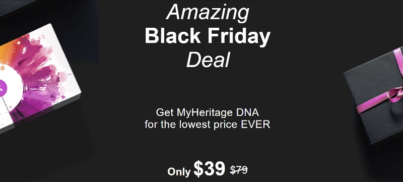Get MyHeritage DNA for just $39! Lowest price EVER for a personal DNA test!