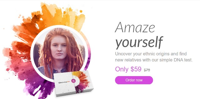 MyHeritage DNA One Week Sale! Get the MyHeritage DNA Ancestry-Only test kit for just $59! This is the same autosomal DNA test kit as AncestryDNA and other major DNA vendors!  BONUS! Purchase 2 or more MyHeritage DNA test kits and standard shipping is FREE! Sale valid through November 10th
