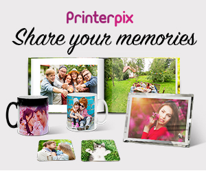Save 60% on Customized Fleece Photo Blanket at Printerpix! Create unique gifts this holiday season using your family photos!