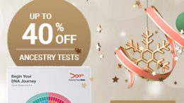 FamilyTreeDNA's Holiday Sale is underway - save up to 40% on Family Finder DNA test kit, Y-DNA, mtDna, and test bundles!
